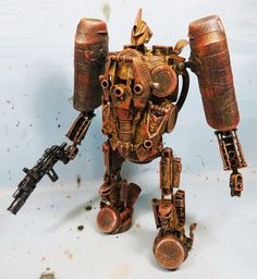 assemblage cybertronian Scorpion by Valerobots on Etsy