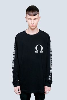 Worn only once. Free size. Authentic tee from the store, http://www.longclothing.com/store/control-long-sleeve.html
