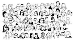 100 cool portraits done for charity! Have a look!