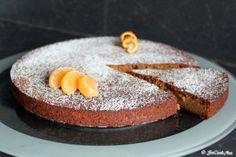 Gâteau aux clémentines et à la farine de châtaignes