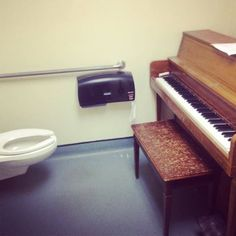 Possibly the most convenient practice room. Gotta love Classical Music Humor! https://www.facebook.com/pages/Classical-Music-Humor/207019572653107
