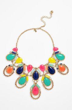 kate spade new york 'amalfi mosaic' statement necklace Cute Jewelry, Jewelry Box, Jewelry Accessories, Fashion Accessories, Jewelry Necklaces, Fashion Jewelry, Jewelry Making, Bracelets, Elegante Y Chic
