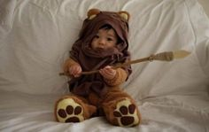 Baby ewok! This is a must once I have my first child! lol