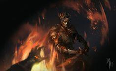 Dark Souls III, Soul of Cinder by JLIEN