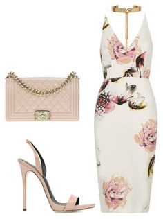 """Summer Wedding"" by kmags4 on Polyvore featuring Giuseppe Zanotti, Chanel and Eddie Borgo"