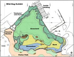 Woodland Park Zoo - Wild Dog Exhibit Site Plan - PJA