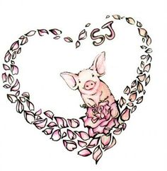 Find this Pin and more on Tattoos. Tattoo Ideas Little Pigs ... #TattooIdeasFirst