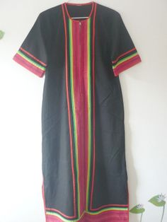 Caftán Boho Hippie Vintage por LatourdeCarol en Etsy, €26.00