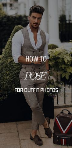'A Pose Is A Performing Art' Okay, now everyone has had this happened to them once in their life. Probably more. You know what I am talking about. After talking a billion photos, you go ahead and take a look… #menstyletips #mensfashiontips