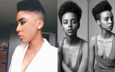 [NATURAL HAIR NOW] Edgy Instagram Inspired Haircuts We Love! Our natural readers are embracing box cuts, high-top fades, and flat tops, and we can't get enough!