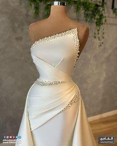 Event Dresses, Bridal Dresses, Formal Dresses, Unique Dresses, Pretty Dresses, Wedding Dress Bustle, Wedding Gowns, Fantasy Gowns, Elegantes Outfit
