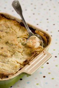 Paula Deen Shrimp and Scallop Lasagna