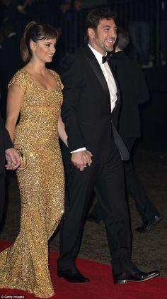 bridesmaid option! Penelope Cruz- love the gold!