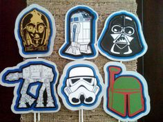 Jedi/ Star Wars Party Centerpiece by ThePaperPartyBox on Etsy, $5.99