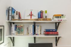 IKEA Shelf Ekby hemnes Ikea Shelves, Hemnes, Bookcase, Shelf, House Styles, Home Decor, Ikea Shelf Hack, Shelving, Decoration Home
