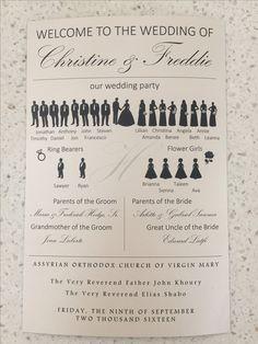 John Stevens, Our Wedding, Dream Wedding, Wedding Programs, Groom, Bride, Wedding Bride, Bridal
