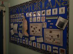 The Victorians Display Fall Art Projects, School Projects, Projects To Try, School Displays, Classroom Displays, Classroom Ideas, Victorian History, Victorian Era, I School