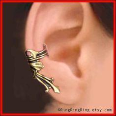 Vestal ear cuff earring Ancient Roman style by RingRingRing, $38.00