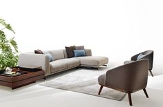 St. Germain #ditreitalia #sofa #newproducts #livingspace #2016 #design