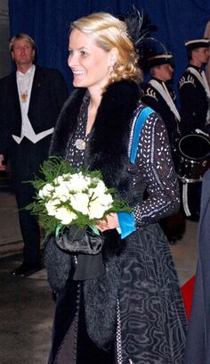 Crown Princess Mette Marit Attends A Performance At The Drammen Theatre In Norway To Start The Celebrations For The Official Anniversary Of Norway'S...
