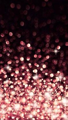 Coral pink bokeh