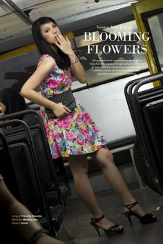@vonny dwi utami as Blooming Flowers