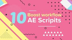 In this tutorial by Motion Plus, we'll be talking about the top 10 scripts that will help you to boost your workflow in Adobe After Effects.