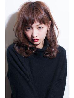 【2016春】最新ヘアスタイルカタログ 女性髪型と流行のヘアカラー - NAVER まとめ
