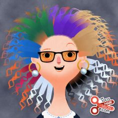 I  this game! It is Toca Hair Salon 2! It is an awesome game! I love creating funky hairdos! Lol