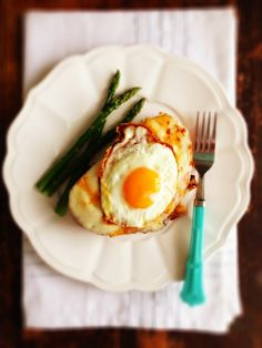 Croque Madame with Dijon Béchamel Sauce #FrenchsEaster #ad