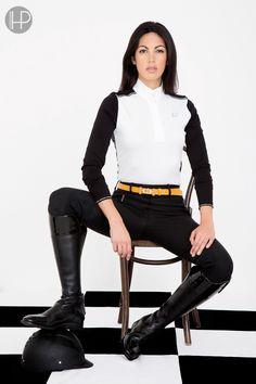 Horseware Platinum Collection A/W14: Tamara competition polo / Siena ladies breeches