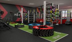 fitness Design concept - Home and Commercial Gym Design