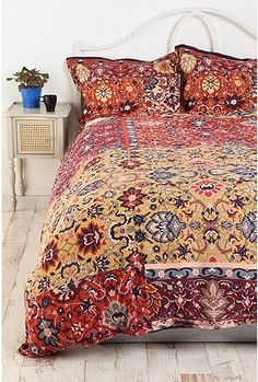?Persian Tile Duvet $79 (pillowcases extra)