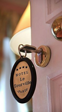 Hotel Le Tourville in Paris.