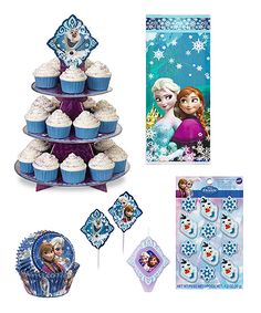 Featuring all your little one's favorite Frozen characters, this set includes decorations and treat toppers for a sweet birthday spread. Ana Frozen, Disney Frozen, Frozen Frozen, Frozen Themed Birthday Party, Birthday Party Themes, Frozen Characters, Kids Board, Little Ones, Diy Crafts
