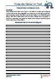 #Rechtschreibtraining 3.Klasse #Italienisch Arbeitsanweisungen sind in den Lösungen in Italienisch übersetzt. Arbeitsblätter / Übungen / Aufgaben für den #Rechtschreib- und Deutschunterricht - Grundschule.  Es handelt sich um 37 Diktattexte, die auf 37 Arbeitsblätter verteilt sind. In den Texten sind Fehler eingebaut. Diese müssen erkannt werden und zur Übung wird der Text richtig geschrieben.