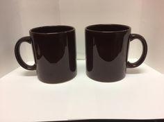 2 Waechtersbach Spain Brown Mug Cup 12oz  #Waechtersbach