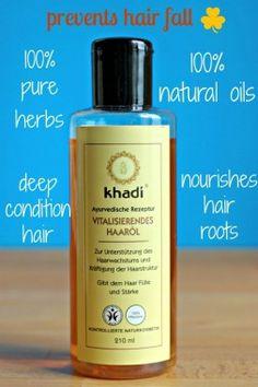 Haare schneller wachsen lassen mit KHADI Haaröl