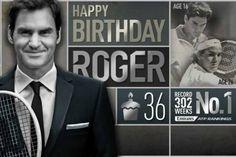 Gli auguri a Federer da Nadal e dall'ATP [VIDEO]