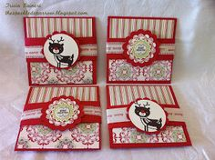 Candlelight Christmas Gift Card Holders by The Speckled Sparrow