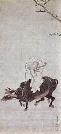 俵屋宗達 「騎牛老子図」 江戸時代・17世紀 (展示は2/12まで)