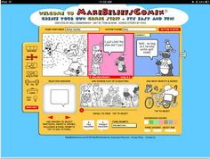 A Great Free iPad App for Creating Comic Strips to Use in Classroom ~ Educational Technology and Mobile Learning