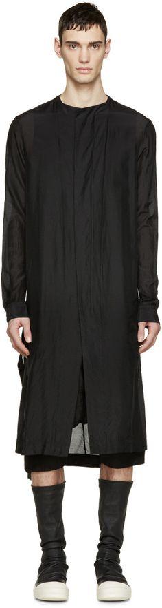 Julius Black Tunic Shirt
