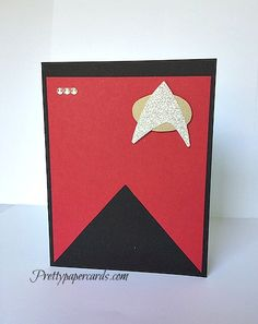 Pretty Paper Cards   a place for beautiful paper crafts, Peggy Noe Independent Stampin' Up! Demonstrator - Star Trek Birthday Card