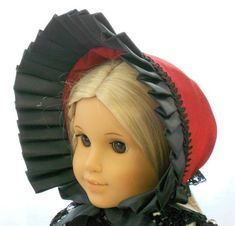 American+Girl+Doll+Clothes++Doll+Hat++Dress+by+capecodcuriosities,+$30.00