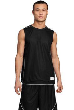 Sport-Tek Men's PosiCharge Mesh Reversible Sleeveless Tee *** Read more  at the image link.