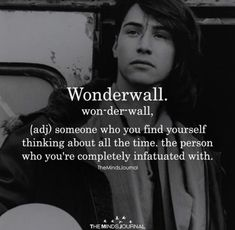 Wonderwall – Word of the Day, words and definitions - Unusual Words, Weird Words, Rare Words, Unique Words, New Words, Cool Words, Fancy Words, Pretty Words, Beautiful Words