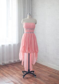 High Low Homecoming Dress,High Low Homecoming Dress,Pink Homecoming Dress,Homecoming Dress,Royal Blue…