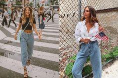 Tú decides: slouchy jeans, ¿sí o no? Pantalon Slouchy, Zara, Boho Fashion, Fashion Trends, Jean Outfits, Mom Jeans, Denim, Pants, How To Wear