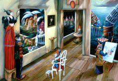 Ilustraciones surrealistas de Tomek Setowski